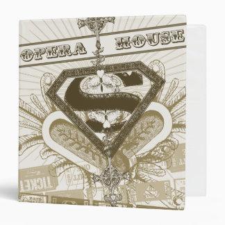 Supergirl Opera House 3 Ring Binder