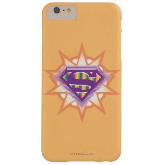 Supergirl Orange Starburst Barely There iPhone 6 Plus Case