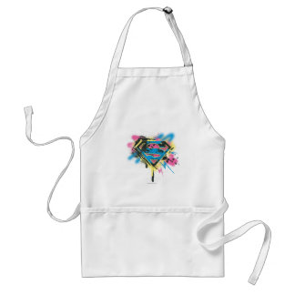 Supergirl Paint and Spills Adult Apron