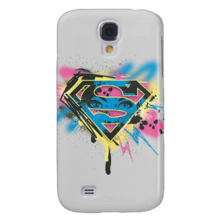 Supergirl Paint and Spills Galaxy S4 Cover