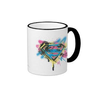 Supergirl Paint and Spills Ringer Mug