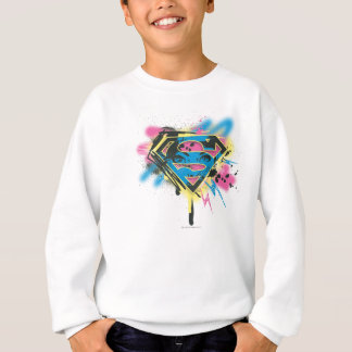 Supergirl Paint and Spills Sweatshirt