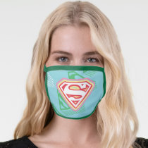 Supergirl Pastel  Repeat Pattern Face Mask