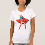 Supergirl pega una actitud playera