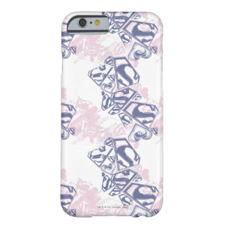Supergirl Pink and Purple Pattern 2 Barely There iPhone 6 Case