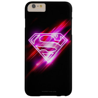 Supergirl Pink Barely There iPhone 6 Plus Case