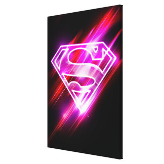 Supergirl Pink Canvas Print