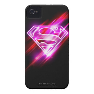Supergirl Pink iPhone 4 Case