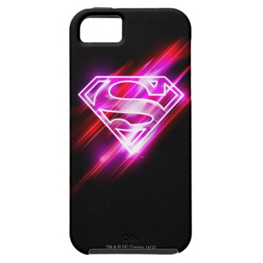 Supergirl Pink iPhone 5 Covers