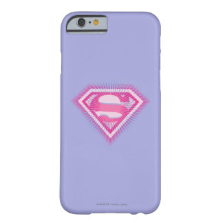 Supergirl Pink Logo Barely There iPhone 6 Case