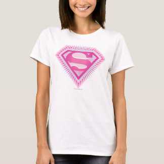 Supergirl Pink Logo T-Shirt