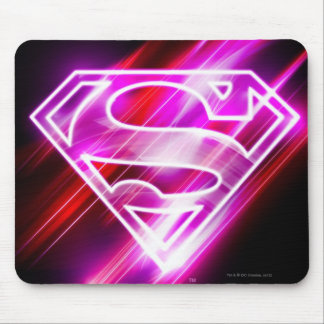 Supergirl Pink Mouse Pad