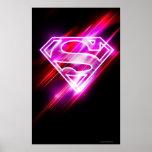 Supergirl Pink Poster