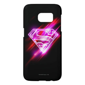 Supergirl Pink Samsung Galaxy S7 Case