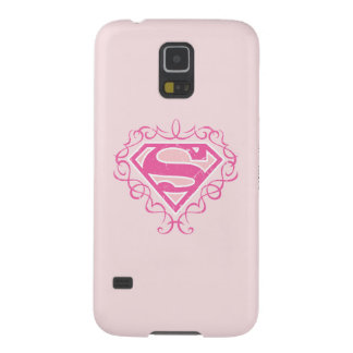 Supergirl Pink Stripes Case For Galaxy S5
