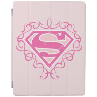 Supergirl Pink Stripes iPad Smart Cover