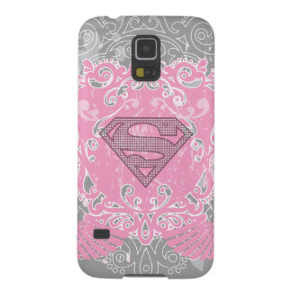 Supergirl Pink Winged Design Galaxy S5 Cases