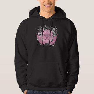 Supergirl Pink Winged Design Hoody