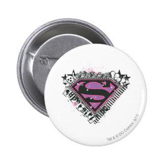 Supergirl Pins Logo