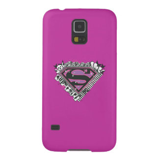 Supergirl Pins Logo Galaxy S5 Cover