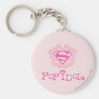 Supergirl Pop Idol Keychain