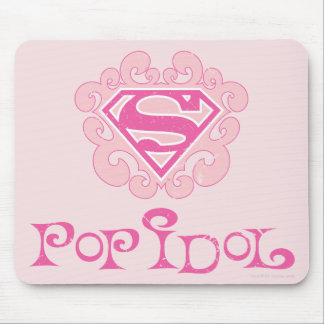 Supergirl Pop Idol Mouse Pad