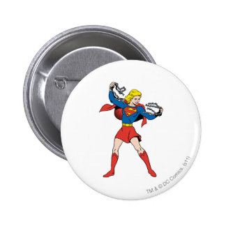 Supergirl Pose 10 Pinback Buttons
