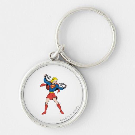 Supergirl Pose 10 Keychains