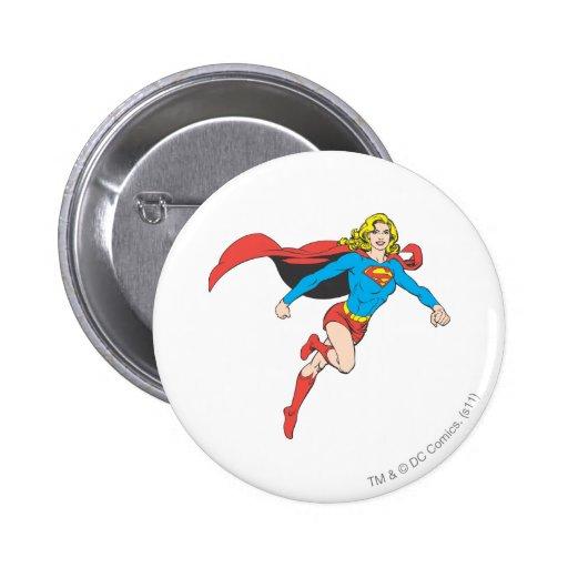 Supergirl Pose 1 Button