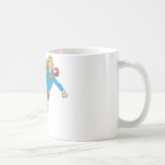Supergirl Pose 1 Classic White Coffee Mug