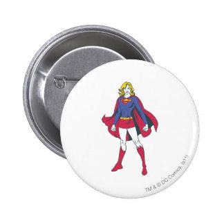 Supergirl Pose 2 Button