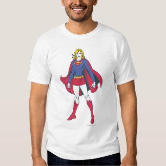 Supergirl Pose 2 Tees