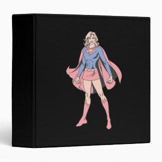 Supergirl Pose 3 Vinyl Binders