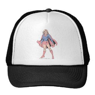 Supergirl Pose 3 Trucker Hats