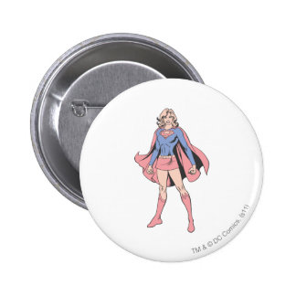Supergirl Pose 3 Pinback Button