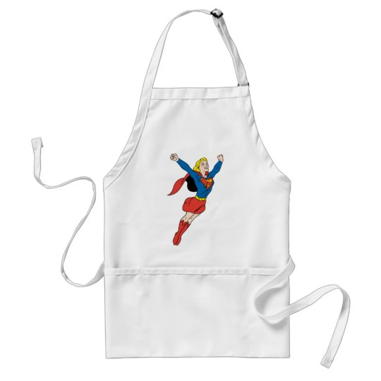 Supergirl Pose 6 Adult Apron