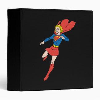 Supergirl  Pose 8 3 Ring Binders