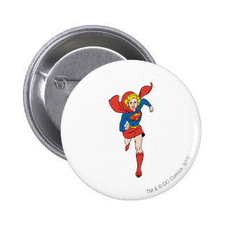 Supergirl Pose 8 Pinback Buttons