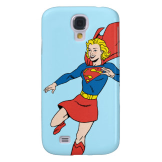 Supergirl  Pose 8 Samsung Galaxy S4 Cover