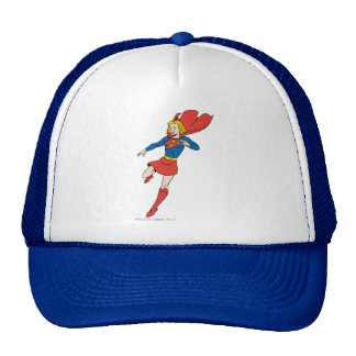 Supergirl Pose 8 Mesh Hat