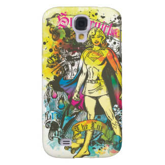 Supergirl Pose The Lux Samsung S4 Case