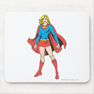 Supergirl Poses Mouse Pad
