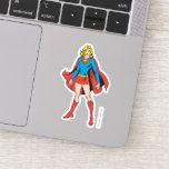 Supergirl Poses Sticker