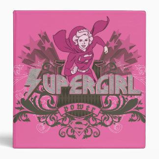 Supergirl Power 2 Binders
