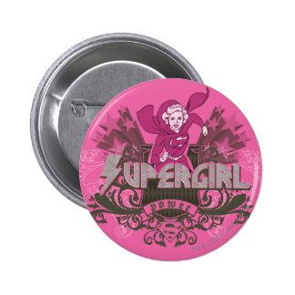 Supergirl Power 2 Pinback Button