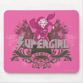 Supergirl Power 2 Mouse Pad