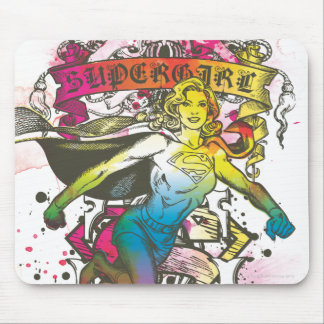 Supergirl Power Mouse Pad