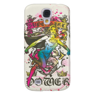 Supergirl Power Samsung Galaxy S4 Cover