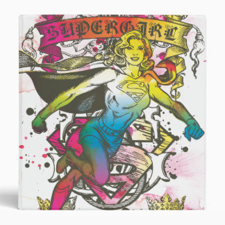 Supergirl Power Vinyl Binder