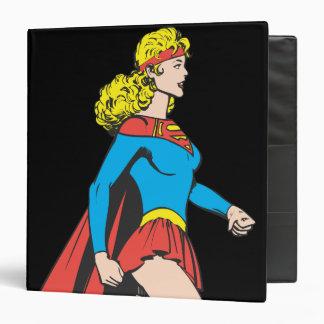 Supergirl Profile 3 Ring Binder